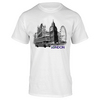 TENNIS EXPRESS London Skyline Tennis Tee White