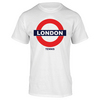 TENNIS EXPRESS London Underground Tennis Tee White