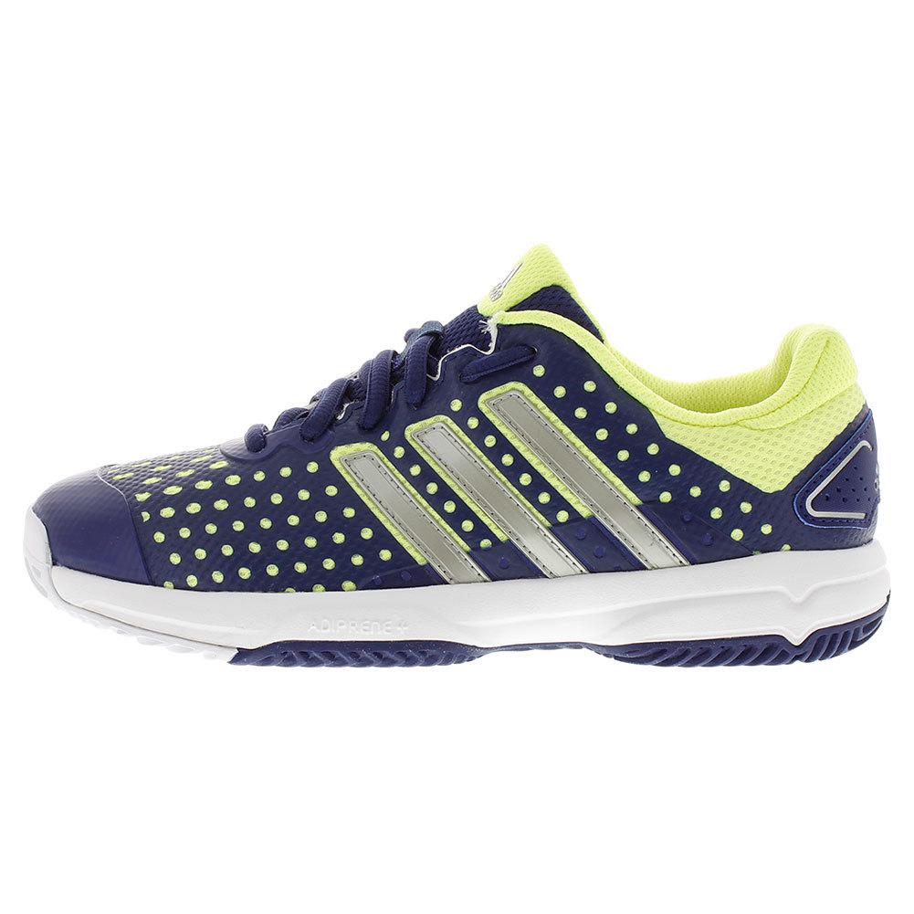 Juniors ` Barricade Team 4 Tennis Shoes Midnight Gray And Star Metallic