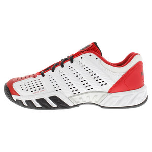 Men`s BigShot Light 2.5 Tennis Shoes White and Red