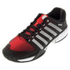 K-SWISS Men`s HyperCourt Express Tennis Shoes Black and Red