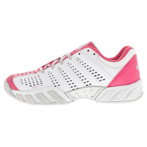 K-SWISS JUNIORS BIGSHOT LT 2.5 TNS SHOES WH/PK