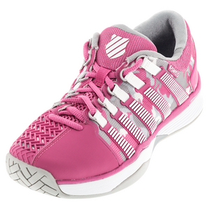Women`s HyperCourt Tennis Shoes Shocking Pink and Camo