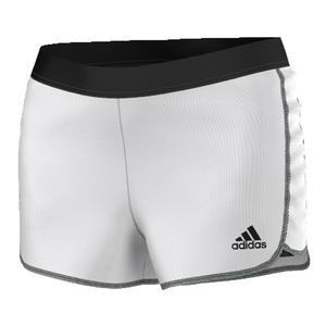 Women`s Tennis Sequencials Core Short White