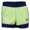 ADIDAS Women`s Tennis Sequencials Core Short Frozen Yellow