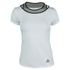 ADIDAS Women`s Tennis Sequencials Touch Tee White