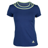 ADIDAS Women`s Tennis Sequencials Touch Tee Midnight Indigo