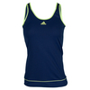 ADIDAS Women`s Galaxy Tennis Tank Midnight Indigo