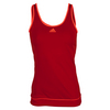 ADIDAS Women`s Galaxy Tennis Tank Power Red