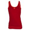 ADIDAS Women`s Galaxy Tennis Tank Power Red