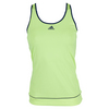 ADIDAS Women`s Galaxy Tennis Tank Frozen Yellow