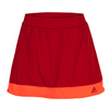 ADIDAS Women`s Galaxy 12 Inch Tennis Skort Power Red