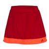 ADIDAS Women`s Galaxy 12 Inch Tennis Skort Power Red