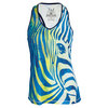 Women`s Zebra Performance Tennis Tank 001_WHT/BLUE_DEPTHS