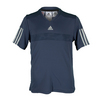 ADIDAS Boys` Barricade Tennis Tee Midnight Gray