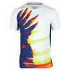 SOLFIRE Men`s Wing Blast Dimension Tennis Crew Bright White