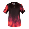ADIDAS Boys` Adizero Tennis Tee Solar Red and Black