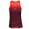ADIDAS Girls` Adizero Tennis Tank Maroon and Solar Red