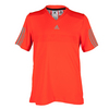 ADIDAS Boys` Barricade Tennis Tee Solar Red