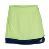 ADIDAS Women`s Galaxy 12 Inch Tennis Skort Frozen Yellow