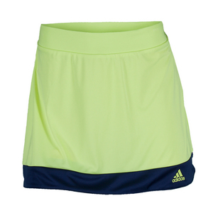 Girls` Galaxy Tennis Skort Frozen Yellow