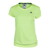 ADIDAS Women`s Galaxy Tennis Tee Frozen Yellow
