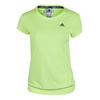 ADIDAS Women`s Galaxy Tennis Tee Frozen Yellow