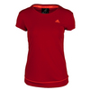 ADIDAS Women`s Galaxy Tennis Tee Power Red