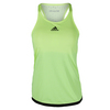 ADIDAS Women`s Climachill Tennis Tank Chill Light Frozen Yellow Melange