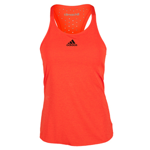 Women`s Climachill Tennis Tank Chill Solar Red Melange