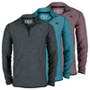 NEW BALANCE Men`s Space Dye 1/4 Zip Tennis Top