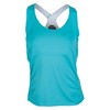 BOLLE Women`s Aquarius Strappy Tennis Tank Peacock
