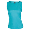 BOLLE Women`s Aquarius High Neck Tennis Tank Peacock