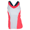 LUCKY IN LOVE Women`s Goddess Tennis Cami Coral Crush