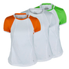 FILA Women`s Citrus Bright Short Sleeve Tennis Top