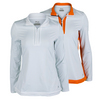 FILA Women`s Citrus Bright Half Zip Tennis Top