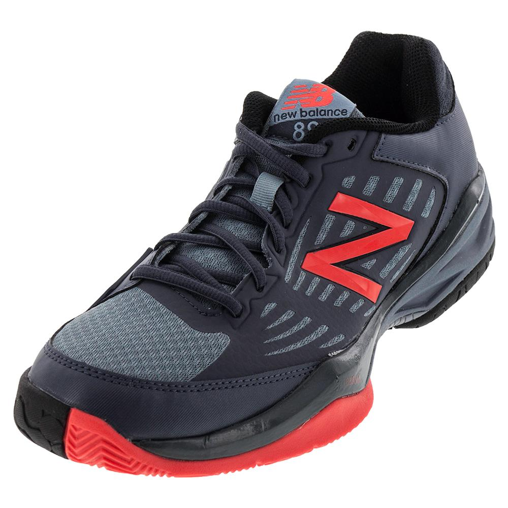Men's 896 D Width Tennis Shoes Cyclone And Flame