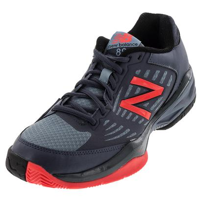 Men`s 896 D Width Tennis Shoes Cyclone and Flame