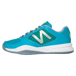 NEW BALANCE WOMENS 696V2 D WTH TNS SHOES SG/ARCTIC