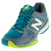 Women`s 896v1 B Width Tennis Shoes Cyclone and Deep Water by NEW BALANCE