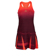 ADIDAS Women`s Adizero Tennis Dress Maroon and Solar Red