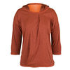 ADIDAS Women`s Adizero Long Sleeve Hooded Tennis Tee Maroon