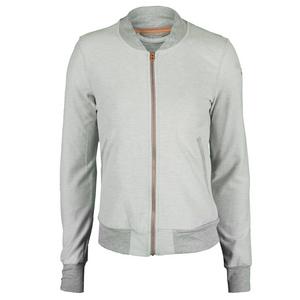 Women`s Adizero Tennis Jacket Medium Gray Heather