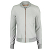 ADIDAS Women`s Adizero Tennis Jacket Medium Gray Heather