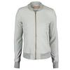 ADIDAS Women`s Adizero Tennis Jacket Medium Gray Heather