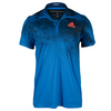 ADIDAS Men`s Adizero Tennis Polo Blue and Black