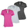 UNDER ARMOUR Women`s Tech V-Neck Top