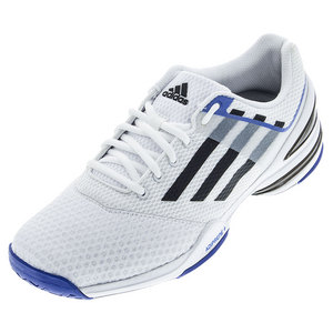 Men`s Sonic Rally Tennis Shoes White and Black