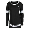 ADIDAS Women`s 3-Stripes Tunic Black and White
