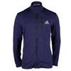 ADIDAS Men`s Barricade Tennis Jacket Midnight Gray